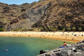 Teresitas Beach in Tenerife, Canary Islands, Spain — Stock Photo
