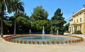 Palau Reial de Pedralbes in Barcelona, Spain — Stock Photo