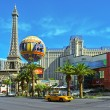 Paris Las Vegas Hotel in Las Vegas, United States — Stock Photo