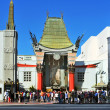 Grauman's Chinese Theatre in Hollywood Boulevard, Los Angeles, U — Stock Photo