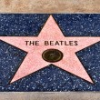 Hollywood Walk of Fame, Los Angeles, United States - Stock Photo