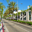 Rodeo drive, beverly hills, EUA — Foto Stock