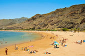 Teresitas Beach in Tenerife, Canary Islands, Spain — Stock Photo