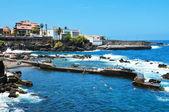 Puerto de la cruz, teneriffa, kanarieöarna, spanien — Stockfoto