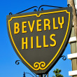 Stock Photo: Beverly Hills sign