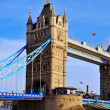 Tower Bridge in London, United Kingdom - Stock Photo