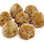 Frozen falafel balls — Stock Photo #8421542