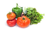 Organic vegetables — Stock Photo