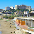 Miracle Beach in Tarragona, Spain — Stock Photo