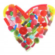 Candy heart — Stock Photo #8553640