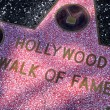 Hollywood Walk of Fame in Los Angeles, United States — Stock Photo #8599190