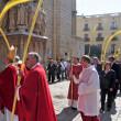 arcybiskup Tarragony wprowadzanie katedry po blessin — Zdjęcie stockowe
