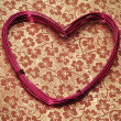 Heart-shaped wire roll — Stock Photo #8787454