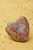 Stone heart — Stock Photo