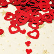 Red hearts — Stock Photo