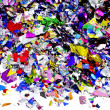 Metallic confetti — Stock Photo #8929339