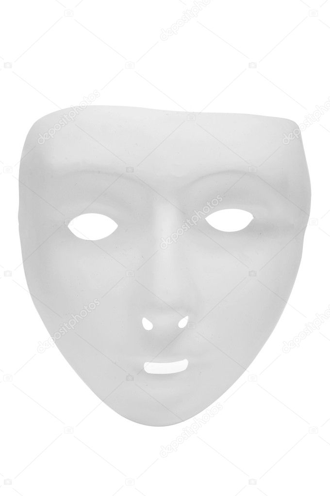 A carnival mask on a white background — Stock Photo #8961558