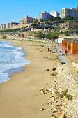 Wunder Strand in Tarragona, Spanien — Stockfoto