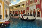 在美国拉斯维加斯的威尼斯人度假村酒店赌场 — 图库照片