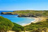 Cala de en Tortuga beach in Menorca, Balearic Islands, Spain — Stock Photo