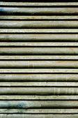 Garage roller door — Stock Photo