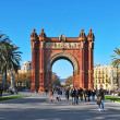 Arc de Triomf in Barcelona, Spain — ストック写真