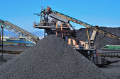 Industria del carbón — Foto de Stock