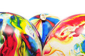 Bunte luftballons — Stockfoto