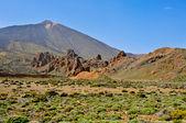 Monte teide, no Parque Nacional de teide, tenerife, Ilhas Canárias, s — Fotografia Stock