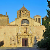 Royal Abbey of Santa Maria de Poblet — Foto Stock