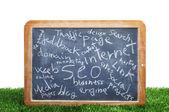 Blackboard Интернет — Стоковое фото