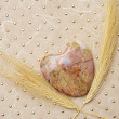 Stone heart — Stock Photo