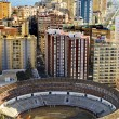 Malagueta Bullring in Malaga, Spain — Stock Photo