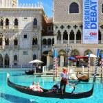 hotel venetian resort casino w las vegas, Stany Zjednoczone Ameryki — Zdjęcie stockowe