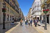 Calle Larios in Malaga, Spain — Stock Photo