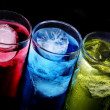 Glasses with cocktails — Stock Photo #9769765