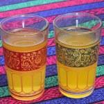 Glasses with tea — Stock Photo #9999780