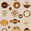 Royalty-Free Stock Vector Image: Vintage coffee badges