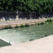 Rome, River Tiber — Stock Photo