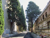 Cemetery, Rome — Stock Photo