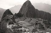 Inca ruins at Machu Picchu — Stock Photo