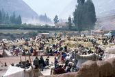 Market in Peru — Stock Photo