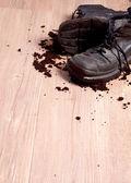 二階の靴 — ストック写真