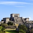 The famous archaeological ruins of Tulum — Stock Photo