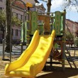 Yellow slide - Stock Photo