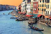 Sunset on Venice — Stock Photo