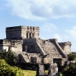 Famous Tulum ruins — Stock Photo