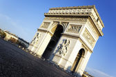 View of Arc the Triomphe — Stock Photo