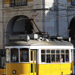 Typical yellow Tram — ストック写真