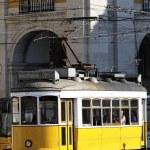 Typical yellow Tram — Stock Photo #8337494